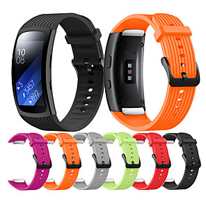cheap Smartwatch Bands-Replacement Wristband for Samsung Gear Fit 2 Pro / Fit 2 Replacement Silicone Smartwatch Watch Strap For Samsung Gear Fit 2 Pro/ Fit 2