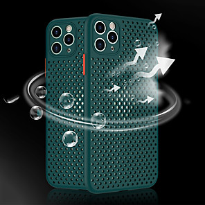 cheap iPhone Cases-Heat Dissipation Breathable Cooling Soft Silicone Phone Case for iPhone SE(2020) 11 11 Pro 11 Pro Max XS Max XR XS X 8 8 Plus 7 7 Plus