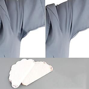 cheap Bathroom Gadgets-40pcs 20bags Antiperspirant Underarm Dress Sticker Pads Armpits Sweat Pads Deodorant Patch Men Women Stickers Anti Sweating Pads