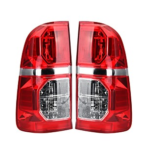 cheap Car Tail Lights-Car Left/Right Side Tail Light Brake Lamp Red with Harness For Toyota Hilux 2005-2015