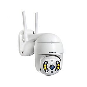 cheap Indoor IP Network Cameras-INQMEGA 1080P PTZ Wireless IP Camera Outdoor Waterproof 4X Digital Zoom Speed Dome 1 Inch Mini WiFi Security CCTV Camera ISCEE
