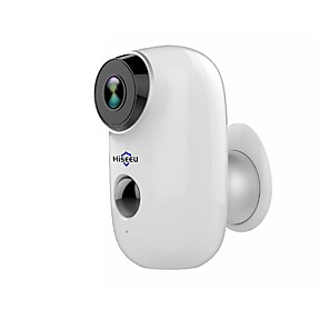 cheap Outdoor IP Network Cameras-Hiseeu 1080P Wireless Battery IP Camera WiFi Rechargeable 2MP Outdoor Security Video Surveillance Camera Waterproof PIR Motion Night Vision Motion Detection Two Way Audio
