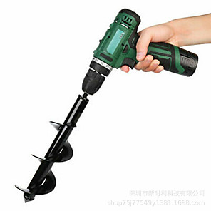 cheap Other Hand Tools-Spiral Leaf Plants to Drill Bit and Flowers Garden Plants Wwist Drill Bit