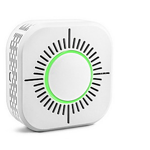 cheap Home Security System-433MHz Wireless Smoke Detector Fire Security Alarm Protection Smart Sensor For Home Automation Works With SONOFF RF Bridge