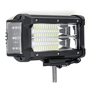 cheap Vehicle Working Light-2Pcs 5.5 Inch Off Road Vehicle LED Light Bars Car Work Lamp 10-30V 40W 38000LM IP67 Waterproof