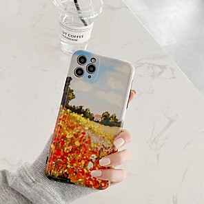 cheap iPhone Cases-Case For Apple iPhone 11 / iPhone 11 Pro / iPhone 11 Pro Max Shockproof Back Cover Scenery TPU