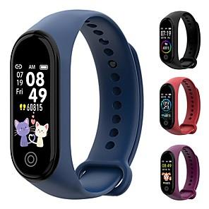 cheap Smartwatches-M4 plus Smart band 4 Fitness Tracker Watch Sport bracelet Heart Rate Blood Pressure Smartband Monitor Health Wristband
