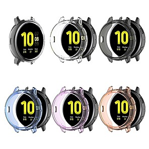cheap Smartwatch Bands-Cases For Samsung Galaxy Active 2 R820 44MM TPU Compatibility Samsung Galaxy