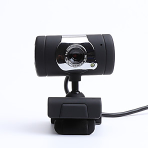 cheap CCTV Cameras-LITBest CZ0006 USB 2.0 Business Conference Webcam HD 480P Flash LED Built In Microphone Drives Free