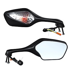cheap Vehicle Working Light-Pair Motorcycle Rear View Mirrors Turn Signal Light For Honda CBR1000RR 2008-2013