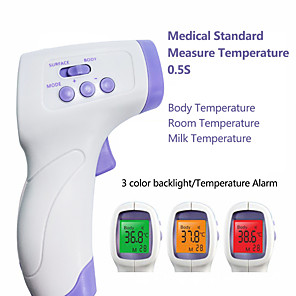 cheap Synthetic Trendy Wigs-YNA-800 Non-contact Body Thermometer Forehead Digital Infrared Thermometer Portable Digital Measure Tool FDA &amp CE Certificated for Baby Adult