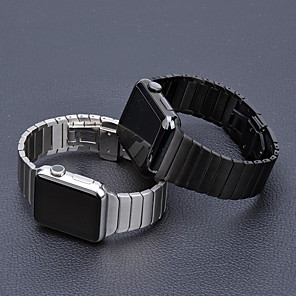 cheap Smartwatch Bands-Stainless Steel strap for Apple Watch band 44 mm 40mm iWatch band 42mm/38mm Butterfly buckle Metal Bracelet Apple watch 5 4 3 21