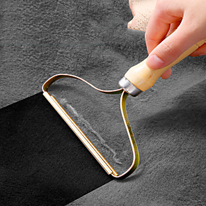 voordelige Paraplu's-draagbare pluizenverwijderaar pluizige stof scheerapparaat penseelgereedschap power-free pluizenverwijderingsrol voor geweven sweaterjas
