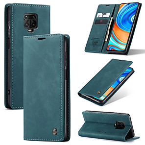 cheap Xiaomi Case-CaseMe Retro Business Leather Magnetic Flip Case For Xiaomi Redmi Note 9 Pro/Note 9 Pro Max /Note 9s/Note 8/Note 8 Pro/K30/K30 Pro/K20/K20 Pro With Wallet Card Slot Stand Case Cover
