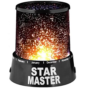 cheap Stage Lights-Starry Sky Projector Light Tiktok Star Light Nebula Projector Moon and Star Night Light Projector for Room Home Decoration AA Batteries Powered Romantic Gift