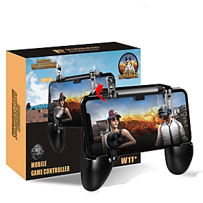 cheap Smartphone Game Accessories-W11 jedi survival gamepad chicken eating pad physics assisted shooting chicken eating gamepad