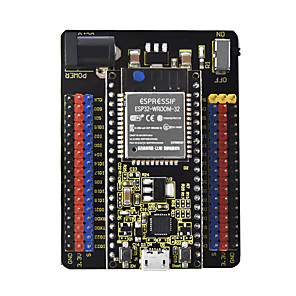 cheap Smartphone Game Accessories-Keyestudio Esp32-io Extension Board Black Environmental Protection
