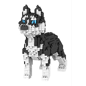 cheap Building Blocks-Building Blocks Educational Toy 950 pcs Dog compatible Molded ABS Legoing DIY Animal Design Boys and Girls Toy Gift