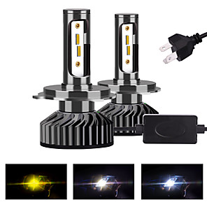 cheap Car Headlights-2pcs H4 / H13 / 9004 / 9007 Motorcycle / Car Light Bulbs LED Fog Lights / Daytime Running Lights / Headlamps For Universal