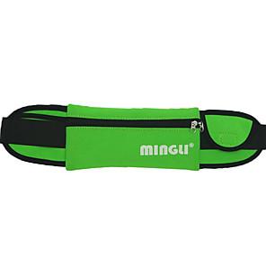 cheap Women's Sandals-Unisex Bags Nylon Fanny Pack Zipper for Outdoor Black / Blue / Green