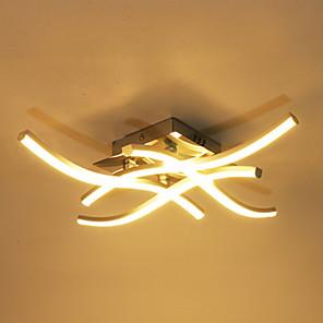 cheap Dimmable Ceiling Lights-LED Moderna de 18W y 24W Para Techo Lmpara de Techo de Aluminio Forked para Decoracin Para Sala de Estar 85-265V