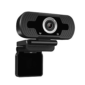 cheap Indoor IP Network Cameras-W8 HD 1080P Webcam Mini Computer PC WebCamera Anti-peeping Rotatable Camera for Live Broadcast Video Conference Work