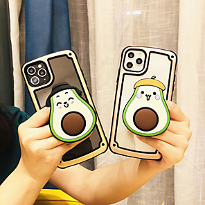 cheap iPhone Cases-Case For Apple iPhone 11 / iPhone 11 Pro / iPhone 11 Pro Max Shockproof / with Stand Back Cover Cartoon Plastic