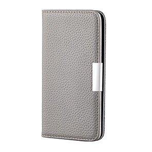 cheap Samsung Case-Case For Samsung Galaxy A51/Galaxy Note 10 Plus/Galaxy A71 Card Holder / with Stand / Flip Full Body Cases Solid Colored PU Leather For Galaxy A40/A50/A70/A01/A11/A21/A80/A90