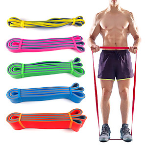 cheap Fitness Gear & Accessories-Pull up Assistance Bands Sports Latex Home Workout Gym Pilates Eco-friendly Non Toxic Stretchy Durable Strength Training Muscular Bodyweight Training Physical Therapy For Men Women