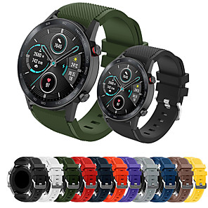 cheap Smartwatch Bands-Sport Silicone Wrist Strap Watch Band for Huawei Watch GT 2e / Honor Magic Watch 2 46mm / GT2 46mm / GT Active / Watch 2 Pro Replaceable Bracelet Wristband