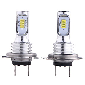 cheap Car Fog Lights-OTOLAMPARA 2pcs H10 / H9 / H7 Car Light Bulbs 35 W CSP 3000 lm 2 LED Headlamps For universal All Models All years