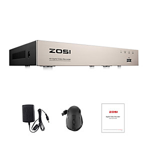 cheap DVRs & DVR Cards-ZOSI H.265 4 in 1 CCTV DVR 8CH Security TVI CVI AHD CVBS DVR 1080P Digital Video Recorder HDMI Video Output Support iPhone Android Phone