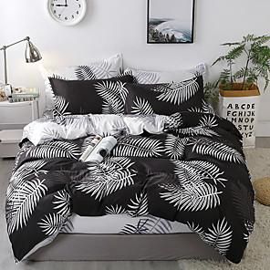 cheap Duvet Cover Sets-Classic bedding set 4 size geometric printing summer bed linen 4pcs/set duvet cover set Pastoral bed sheet AB side duvet cove