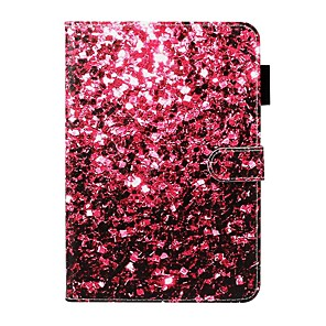 cheap iPad case-Case For Apple iPad 10.2 / iPad Mini 3/2/1 /Mini 4/5 Wallet / Card Holder / with Stand Full Body Cases Scenery PU Leather For iPad Pro 9.7/New Air 10.5 2019/Air 2/2017/2018