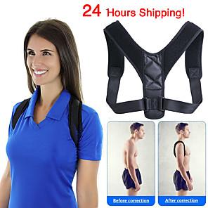cheap Thermometers-Brace Support Belt Adjustable Back Posture Corrector Clavicle Spine Back Shoulder Lumbar Posture Correction