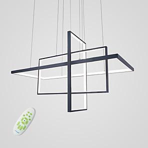 cheap Circle Design-3-Light 38 cm Cluster Design Pendant Light Aluminum Painted Finishes Artistic / LED 110-120V / 220-240V