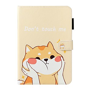cheap iPad case-Case For Apple iPad 10.2 / iPad Mini 3/2/1 /Mini 4/5 Wallet / Card Holder / with Stand Full Body Cases Animal PU Leather For iPad Pro 9.7/New Air 10.5 2019/Air 2/2017/2018