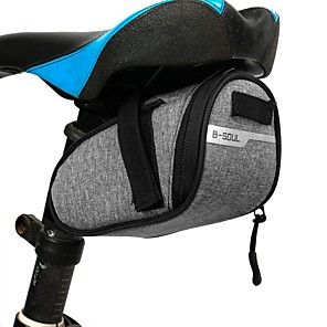 cheap Bike Handlebar Bags-1 L Bike Saddle Bag Cycling Wearable Outdoor Bike Bag Terylene Bicycle Bag Cycle Bag