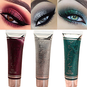 cheap Eyeshadows-7 Colors Eyeshadow Lady Eye Cosmetic Waterproof Glow Easy to Carry Women Glitter Shine lasting Coloured gloss Pot gloss Long Lasting Daily Makeup Party Makeup Cateye Makeup Cosmetic Gift