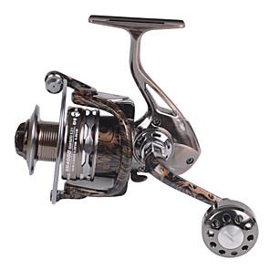 cheap Fishing Reels-Fishing Reel Spinning Reel 5.2:1 Gear Ratio+12 Ball Bearings Hand Orientation Exchangable Sea Fishing / Spinning / Jigging Fishing
