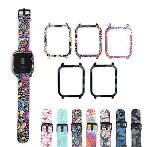 cheap Smartwatch Bands-Watch Band for Amazfit Bip / Amazfit GTS / Amazfit GTR 42mm Amazfit Sport Band Silicone Wrist Strap