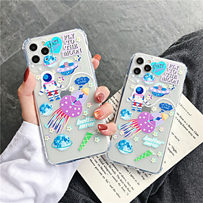 cheap iPhone Cases-Case For Apple iPhone 11 / iPhone 11 Pro / iPhone 11 Pro Max Shockproof / Pattern Full Body Cases Cartoon TPU