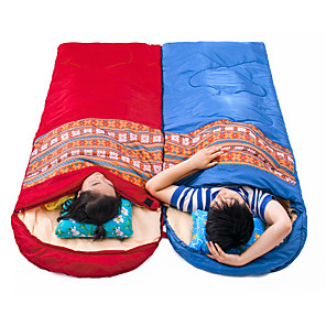 cheap Sleeping Bags & Camp Bedding-Sleeping Bag Outdoor Camping Square 10 °C Hollow Cotton Thermal / Warm Windproof Spring for Beach Camping / Hiking / Caving Traveling Picnic