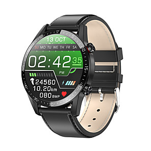 cheap Smartwatches-L13 Unisex Smart Wristbands Android iOS Bluetooth Touch Screen Heart Rate Monitor Blood Pressure Measurement Calories Burned Anti-lost ECG+PPG Stopwatch Pedometer Call Reminder Sleep Tracker