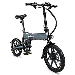 cheap Smartphones-FIIDO D2 Folding Electric Moped Bike City Bike Commuter Bike Three Riding Modes 16 Inch Tires 250W Motor 25km/h 7.8Ah Lithium Battery 20-35KM Range
