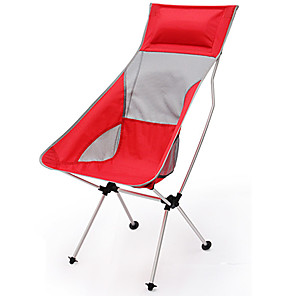 povoljno Namještaj za kampiranje-Kamperska sklopiva stolica Prijenosno Može se sklopiti Može se prati Udobnost Aluminum Alloy Oksford za 1 osoba Ribolov Plaža Kampiranje / planinarenje / Speleologija Putovanje Pasti Ljeto Bijela