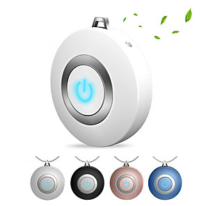 cheap Construction & Decoration-Wearable Air Purifier Necklace Mini Portable USB Air Cleaner Negative Ion Generator Low Noise Air Freshener Fight flu