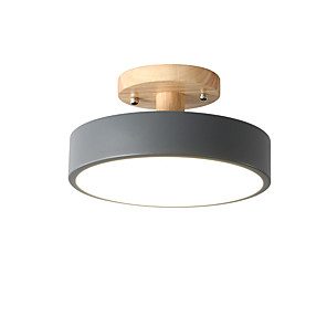 cheap Dimmable Ceiling Lights-23 cm Geometric Shapes Flush Mount Lights Metal Painted Finishes LED / Modern 110-120V / 220-240V