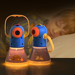 cheap Magic Tricks-mideer Story Book Torch Night Light Educational Toy Story Torch Fun Sleep Set Hand Held 4 Fairy Tales Movies 32 slides 8 Fairy Tales Movies 64 slides Alkaline Battery Kid's Child's for Birthday Gifts