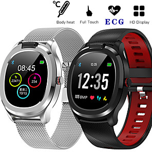 cheap Smartwatches-T01 Smart Watch ECG Heart Rate Smartwatch Fitness Tracker Cardio Bracelet Smart Bracelet Full Touch Screen